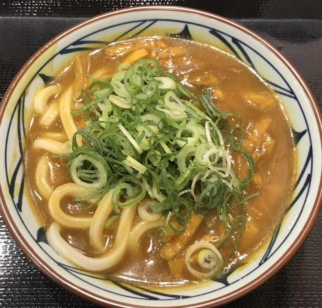 カレーうどん,丸亀製麺