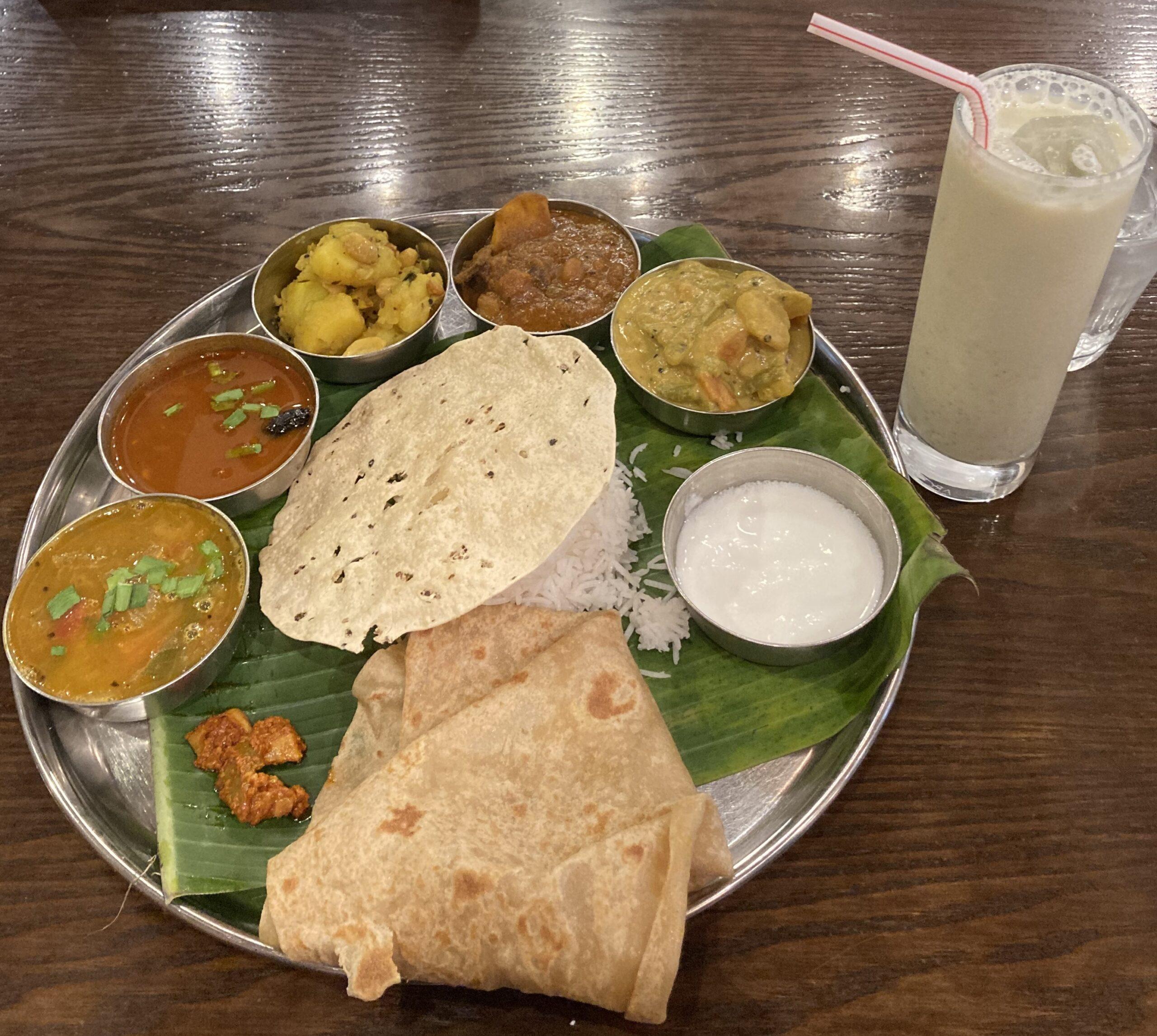 ミシュランレストランでインドカレー